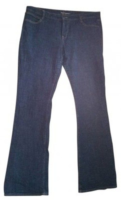 Old Navy Trouser/Wide Leg Jeans-Dark Rinse