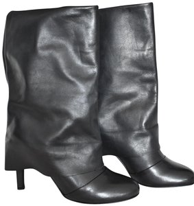 See by Chloé Leather Black Boots
