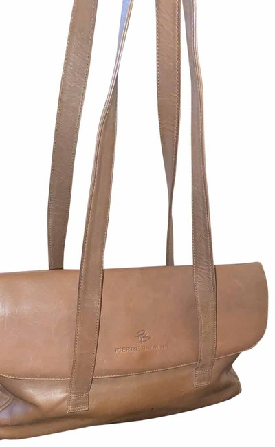 Item - Vintage 099/A Taupe Leather Shoulder Bag