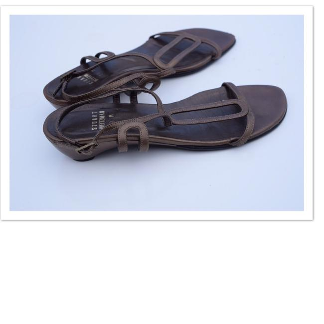Item - Brown Leather Strappy Sandals Size US 5.5 Regular (M, B)