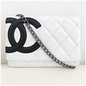 Chanel White Clutch