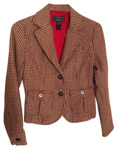 American Eagle Outfitters Houndstooth Wool Blend Jacket