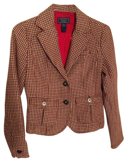 Preload https://item3.tradesy.com/images/american-eagle-outfitters-brown-houndstooth-wool-blend-jacket-pant-suit-size-4-s-2269752-0-0.jpg?width=400&height=650