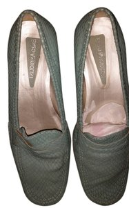Enzo Angiolini light sky blue -teal Flats