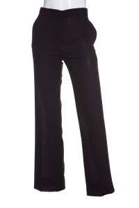 Ann Demeulemeester Straight Pants Black