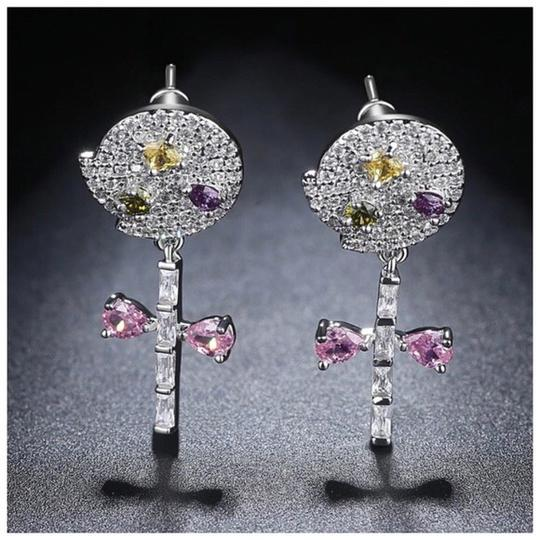 Other Swarovski Crystals The Christa Dainty Lollipop Earrings S1