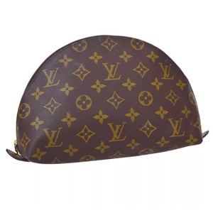 Louis Vuitton Louis Vuitton Trousse Demi Ronde Cosmetic Pouch
