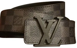 Louis Vuitton Louis Vuitton Damier Graphite Belt