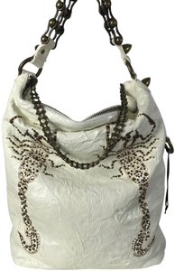 Thomas Wylde Crystal Chain Shoulder Bag