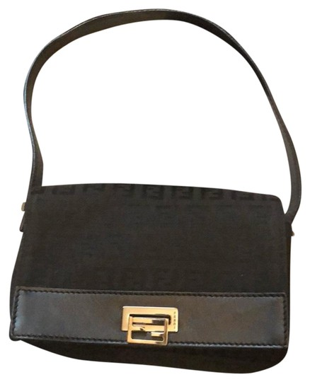 Preload https://img-static.tradesy.com/item/22699013/fendi-black-canvas-baguette-0-1-540-540.jpg