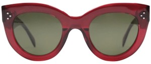 Cline CELIN Audrey Red Cateye Sunglasses CL41050