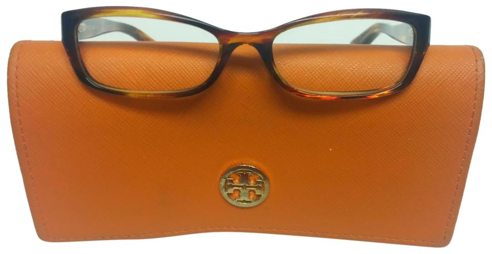 022296d7ed8 Tory Burch Brown Clear Frame   Case Sunglasses - Tradesy