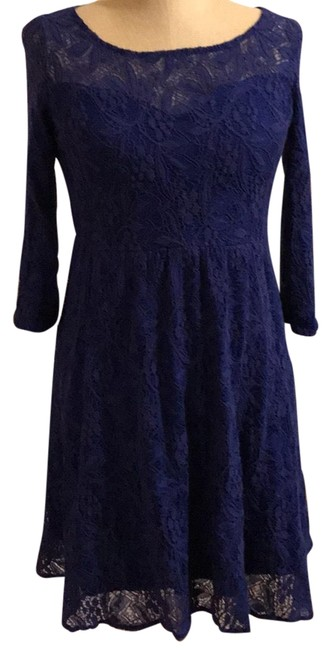 Preload https://img-static.tradesy.com/item/22699810/free-people-blue-vintage-lace-short-casual-dress-size-6-s-0-1-650-650.jpg