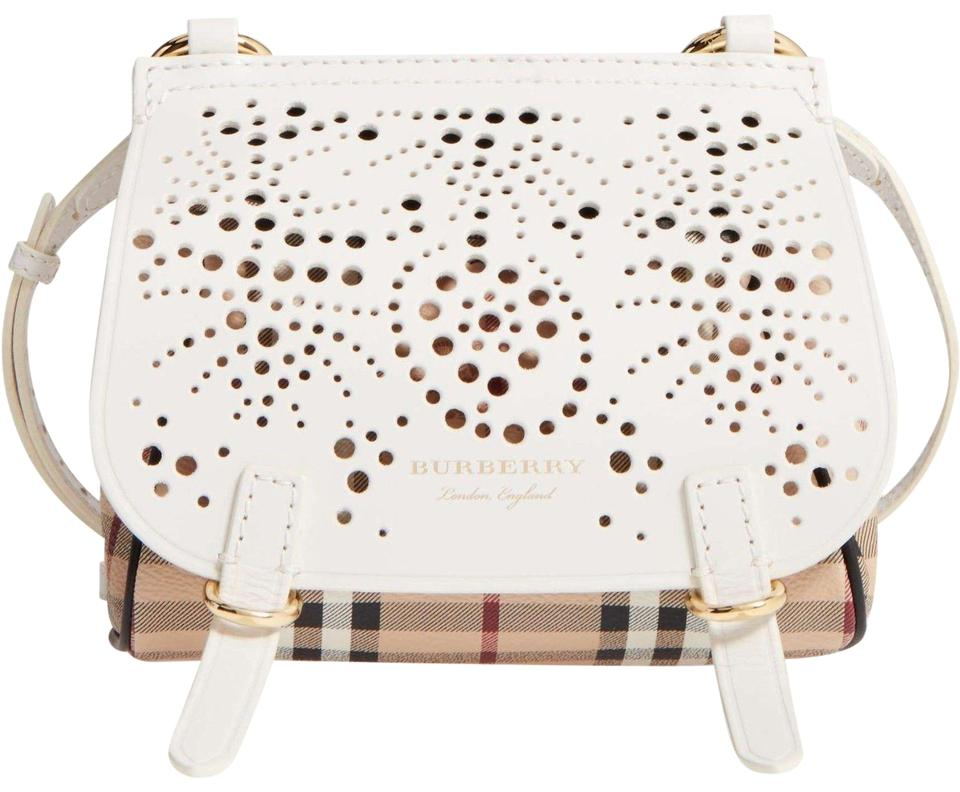 Burberry Baby Bridle In 150.00 White Lambskin Leather Cross Body Bag ... aa2cc7480a2c7