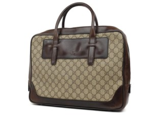 Gucci Briefcase Attache Portfolio Document Laptop Bag