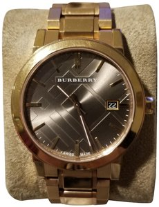 Burberry Burberry Large Check Stamped Watch