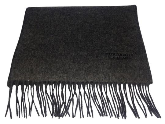 Burberry BBSL15 Burberry Grey Cashmere Black Label Scarf