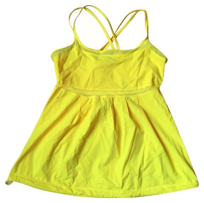 Item - Yellow Workout Activewear Top Size 4 (S, 27)