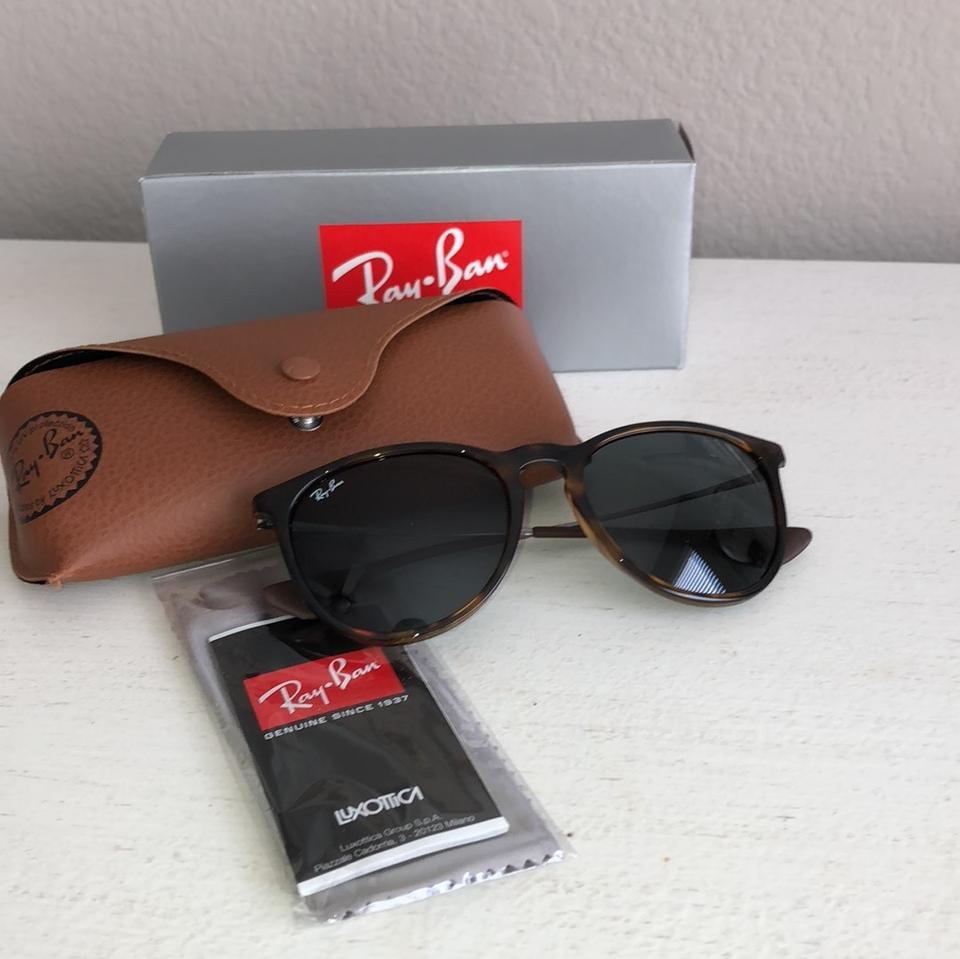 acc916e1557 Ray Ban Zonnebrillen Erica. Ray-Ban Brown- Tortoise Shell Erica Sunglasses  - Tradesy