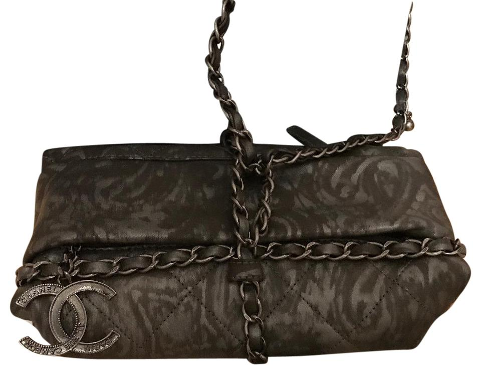 13a6e925b4d2 Chanel Baluchon Clutch Limited Edition Wristlet in Grey Image 0 ...