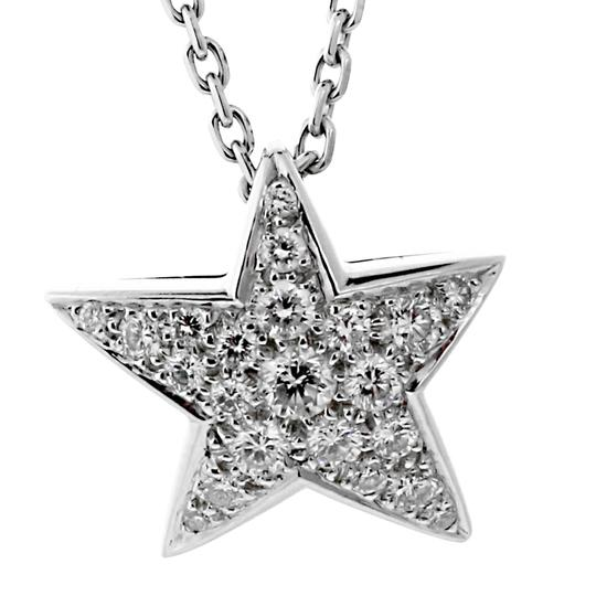 Chanel Chanel Comete Diamond White Gold Necklace Image 2