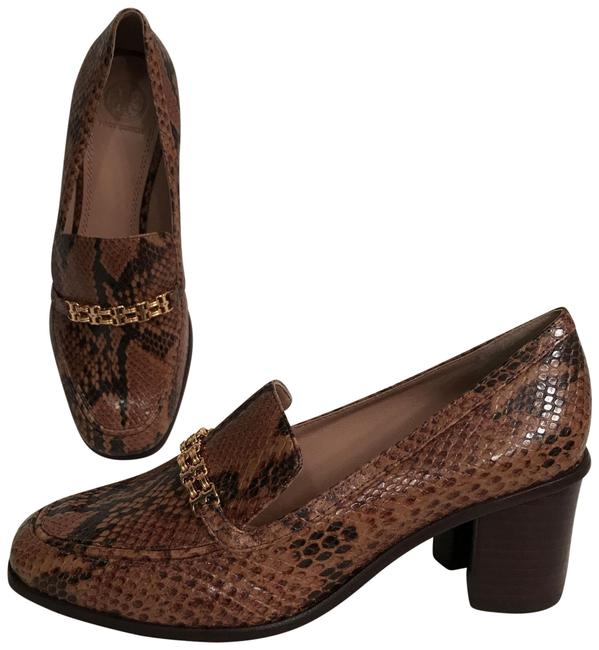 Item - Brown Gemini Link New Leather & Patent Leather Loafers Flats Size US 7.5 Regular (M, B)
