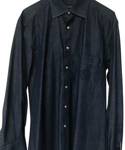 Stefano Ricci Top dark blue