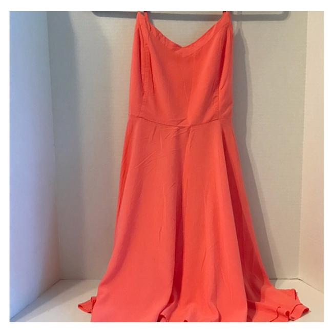 Item - *2 For 20 Mix-n-match Any Item Tangerine Mid-length Casual Maxi Dress Size 8 (M)