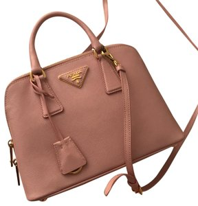 514c07281f2c Prada Promenade Saffiano Dust Pink Leather Cross Body Bag - Tradesy