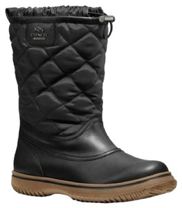 Coach 7.5 Size 7.5 Weather Black Boots