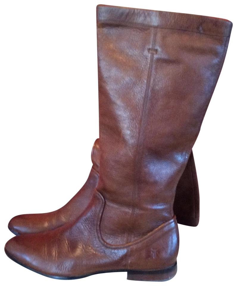 Ladies Frye Modern Brown Cindy Slouch Boots/Booties Modern Frye technology 58d3ce