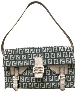 Fendi Tote in Black/light pink