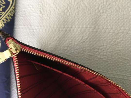 Louis Vuitton Tote in Brown/Coral/Pink/Purple Image 11