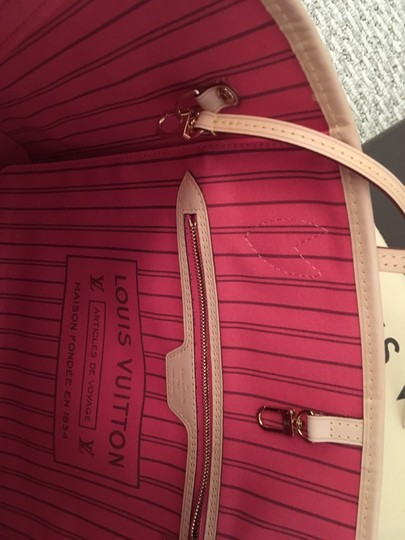 Louis Vuitton Tote in Brown/Coral/Pink/Purple Image 7