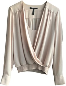BCBGMAXAZRIA Top beige/ light bare pink