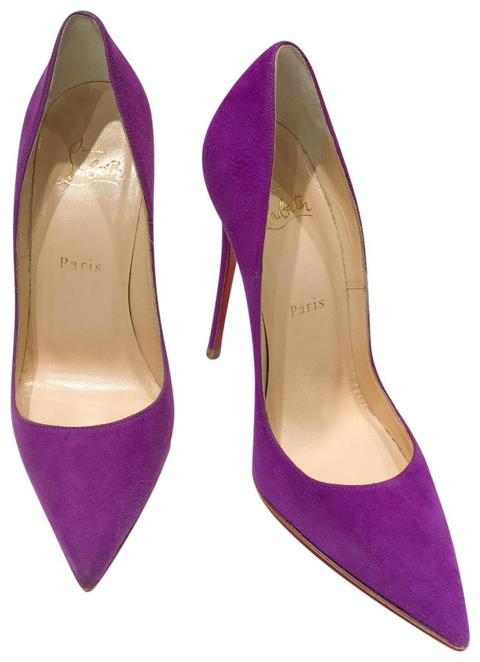 size 40 c3afb 825bc Purple So Kate 120 Suede Pumps