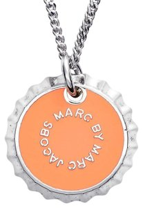 Marc by Marc Jacobs Lost & Found Bottle Cap Pendant Necklace GoldPlated