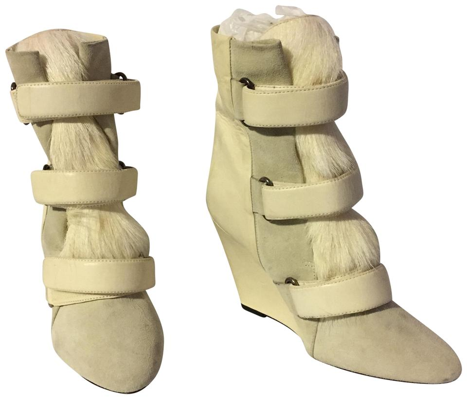 Isabel Marant White Booties Boots Scarlet 8YPw81q