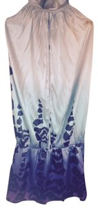 Marciano Top light blue, black, & purple