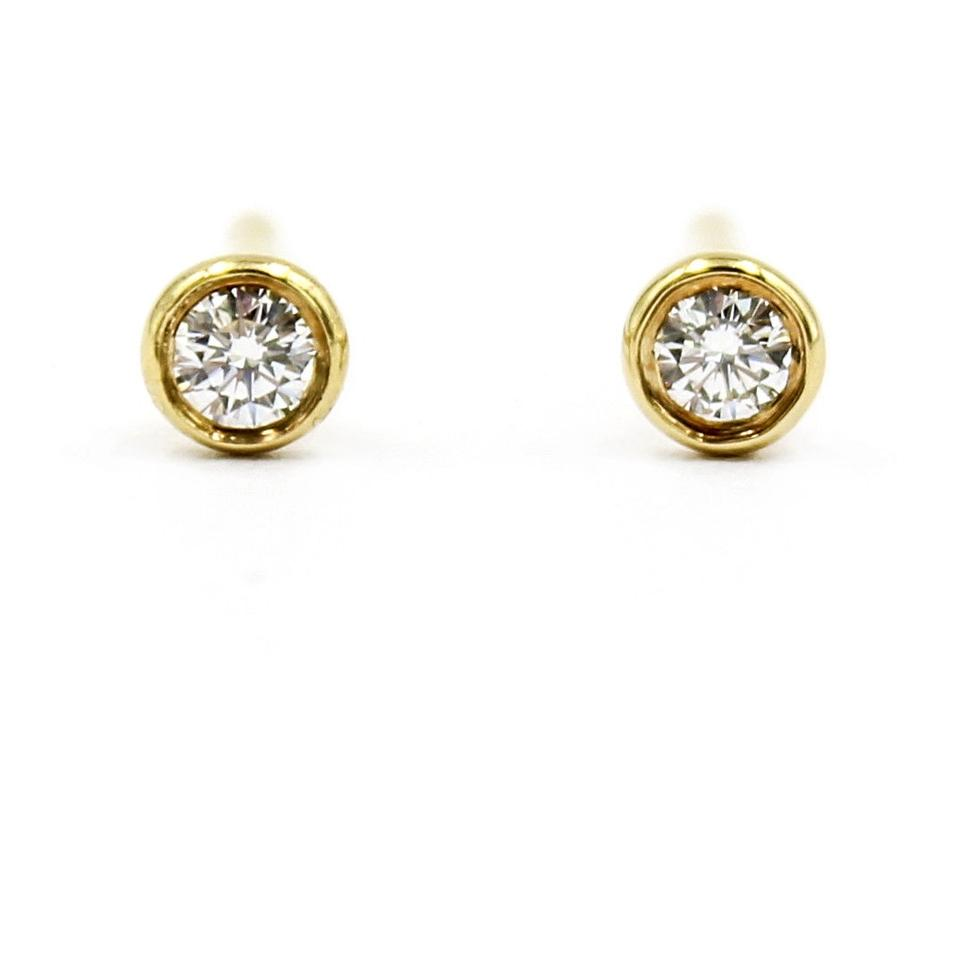 cf90753f9 Tiffany & Co. Tiffany & Co. Elsa Peretti Diamonds by The Yard Stud Earrings  ...