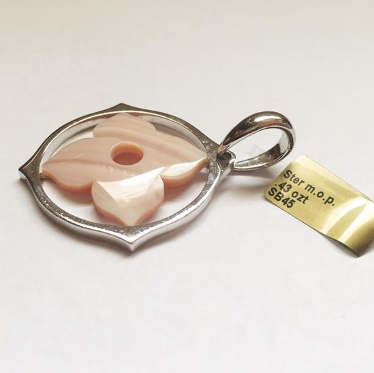 Diamondsy Sterling silver Pinkish mother of pearl pendant Image 4