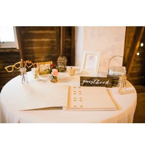 Rose Gold and Gold Ceremony Decoration