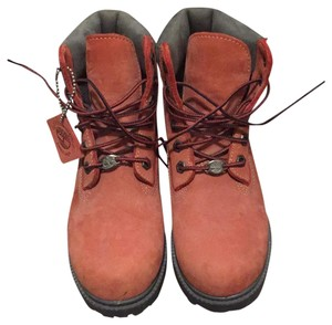 Red Laces Waterproof Boots/Booties Size
