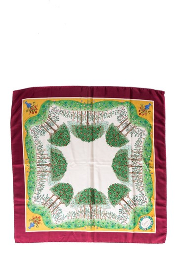 Preload https://img-static.tradesy.com/item/22703897/gucci-multicolored-maroon-placed-floral-print-rolled-edge-silk-scarfwrap-0-0-540-540.jpg