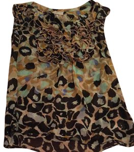 Matthew Williamson Top Animal Print