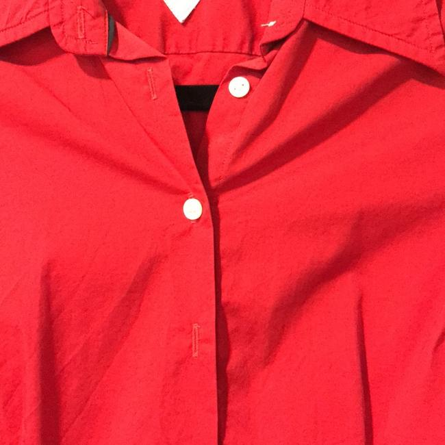 Tommy Hilfiger Button Down Shirt Red