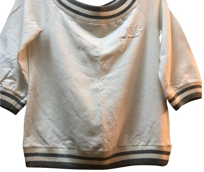 Item - White/Silver Sweater
