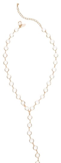 Chico's Chico's circle setting Y necklace