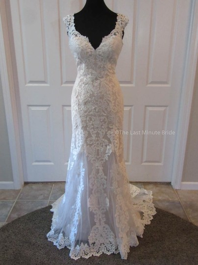 Preload https://img-static.tradesy.com/item/22704170/essense-of-australia-ivorymink-lace-d2320-feminine-wedding-dress-size-8-m-0-0-540-540.jpg