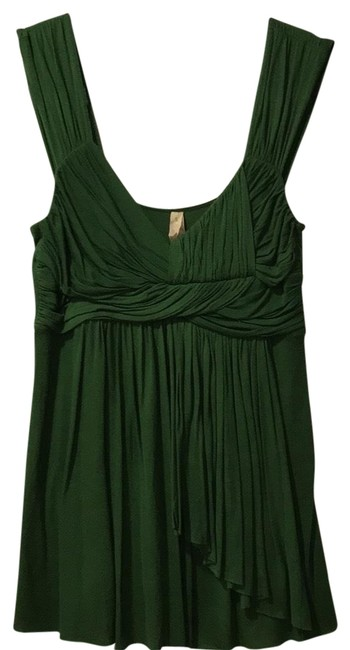Preload https://img-static.tradesy.com/item/22704183/bailey-44-green-anthropologie-ruched-and-draped-blouse-night-out-top-size-4-s-0-1-650-650.jpg